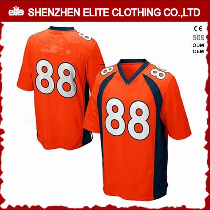 f0fb45b4dbb China High Quality Custom Team Name American Football Uniforms Cheap  (ELTFJI-64) - China Custom Logo Football Jersey Green, Bulk Sale Football  Training ...