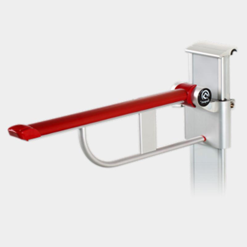 China Nursing Home Aluminum Alloy Toilet Safety Handrail Grab Bar ...
