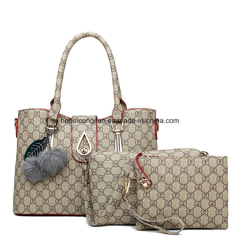 Old-Classic Printing Ladies Big Size Leather Shoulder Bags Tote Handbags afdf97922a824