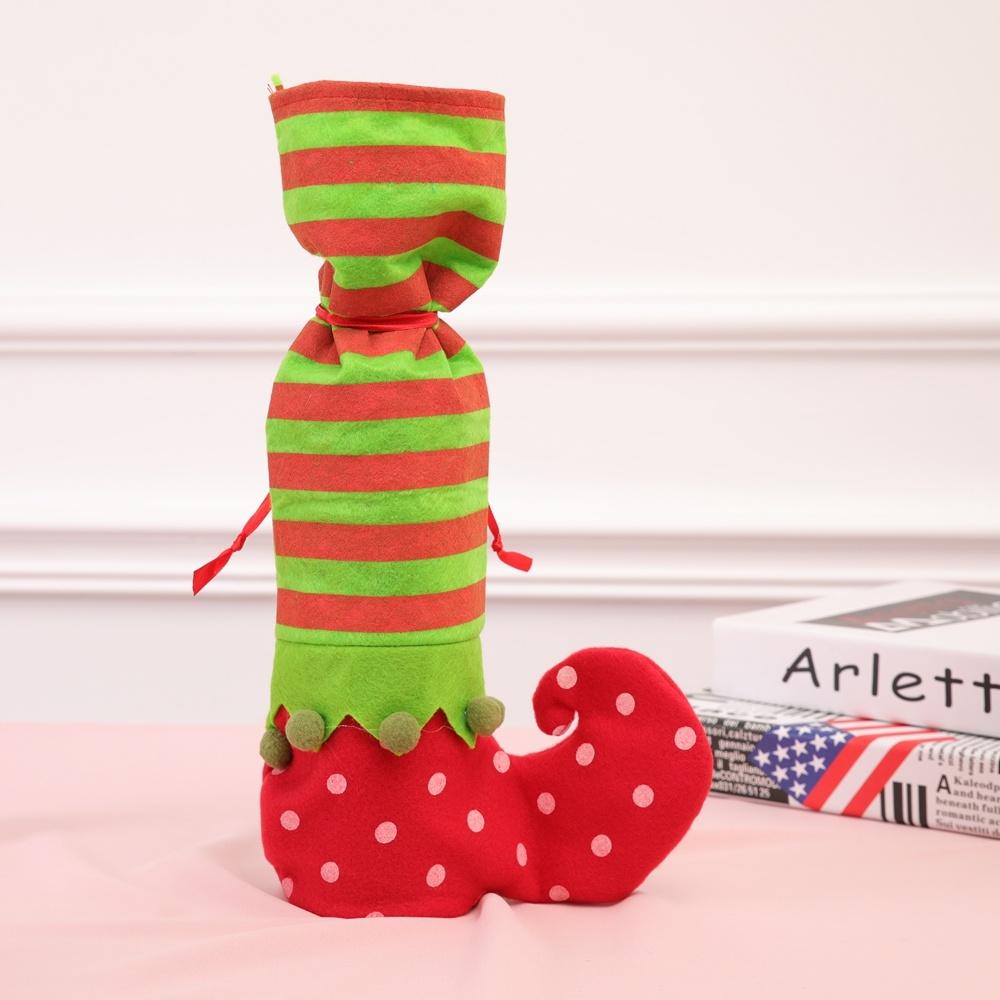 Elf Christmas Gift Bags.Hot Item Christmas Supplies Elf Candy Bag Christmas Gift Bag Promotion Gift