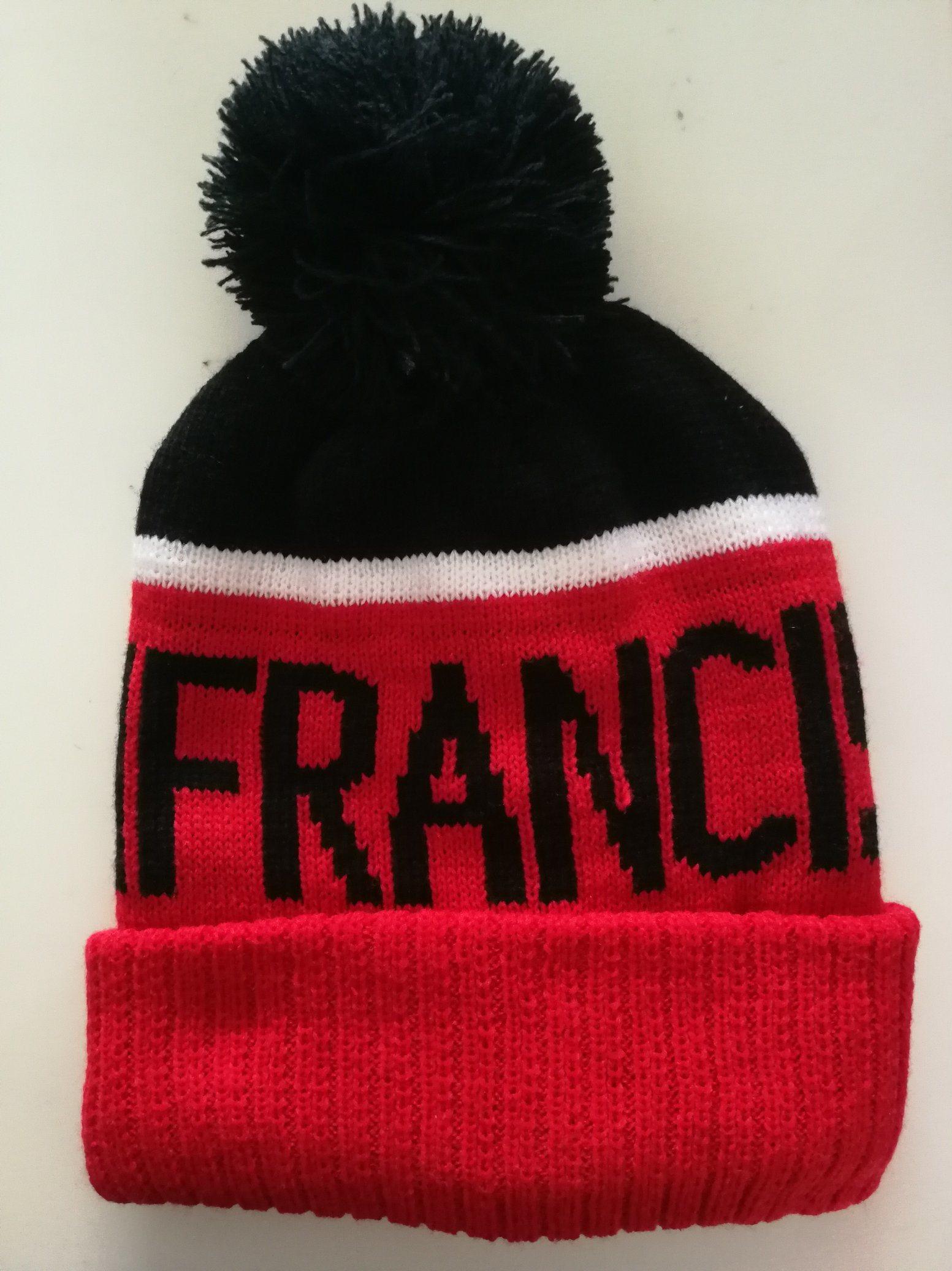 56deeba1301 China Sanfrancisco POM POM Beanie Hat Soft Cable Knit Winter Fleece Lined Skull  Cap Cuff Beanie - China Fashion Cap