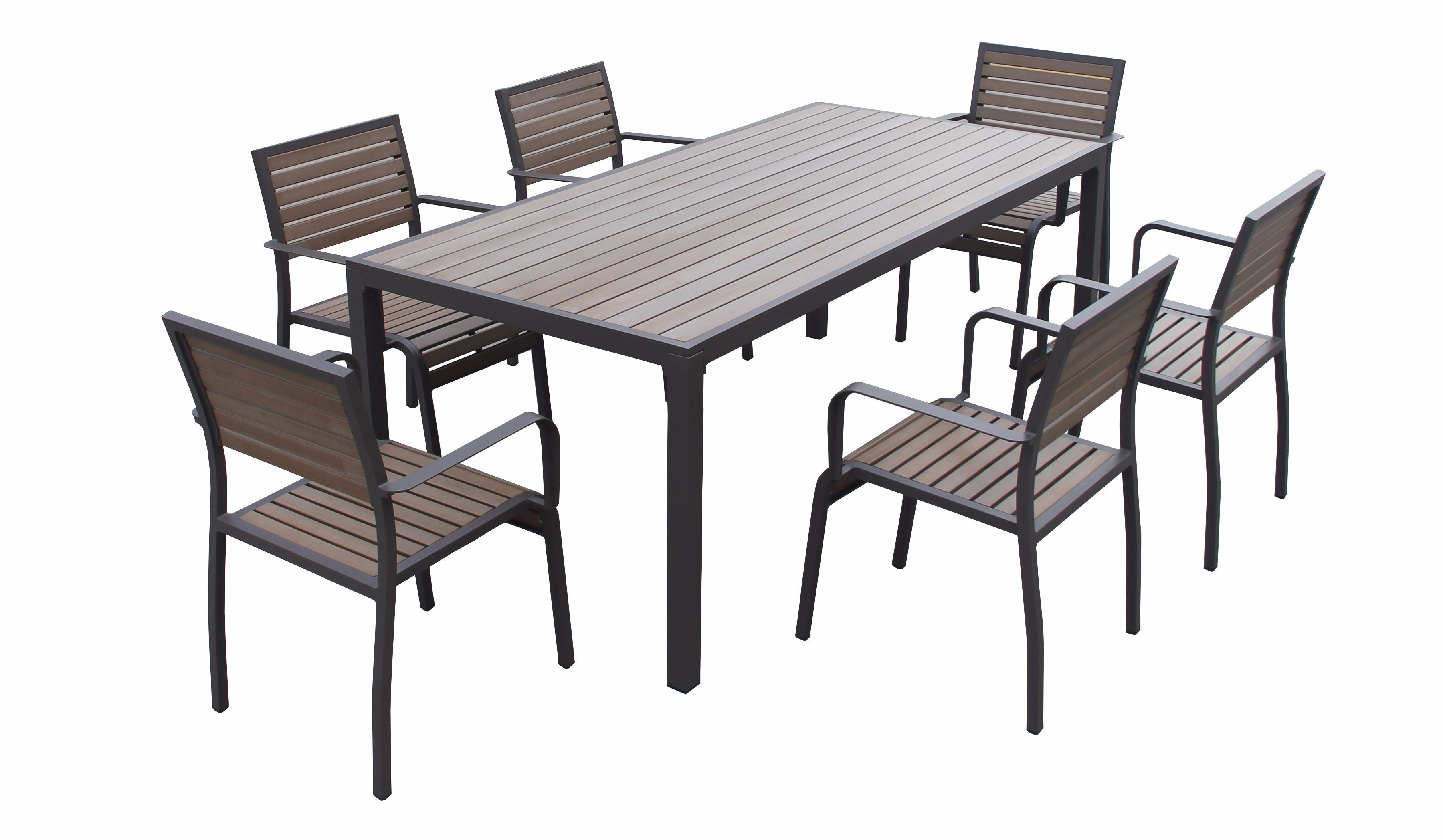 Fine Hot Item General Used Outdoor Garden Patio Plastic Wood Dining Set Polywood Outdoor Leisure Furniture Outdoor Dining Set Pdpeps Interior Chair Design Pdpepsorg