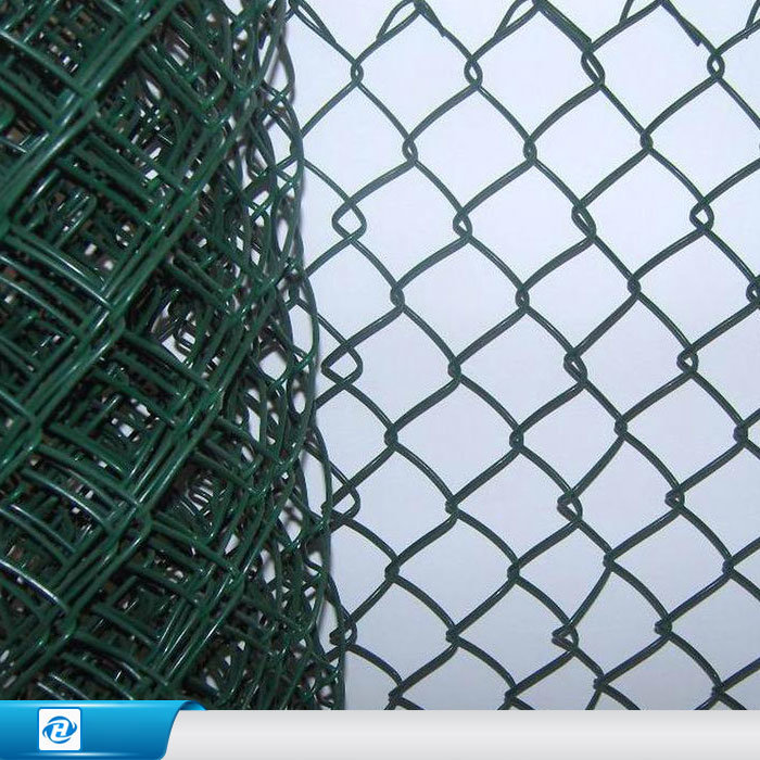 China Galvanized/ PVC Coated Security Chain Link /Wire Mesh/ Fence ...