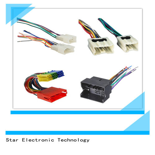 Factory Price Custom Car Audio Stereo Radio Speaker Wiring Harness Manufacture china factory price custom car audio stereo radio speaker wiring