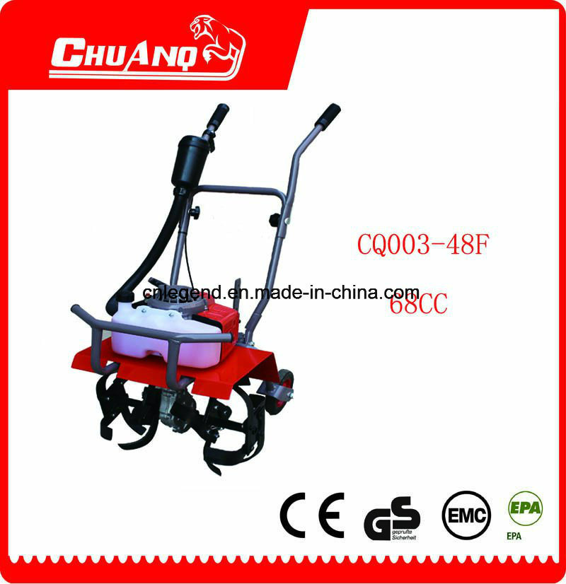 68 Cc Gasoline Mini Tiller pictures & photos