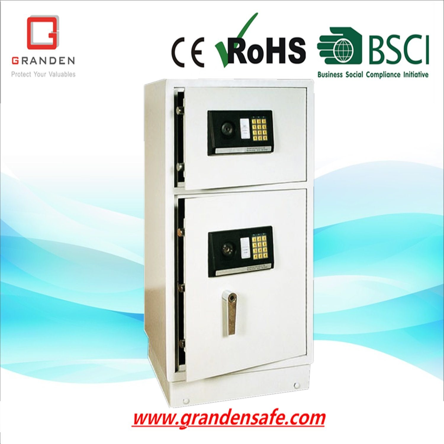 Commercial Electronics Safe for Home and Office (G-78EAK) , Solid Steel