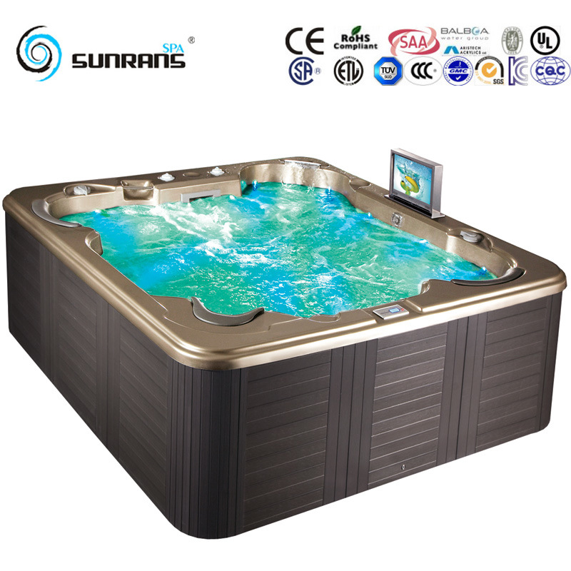 China Luxury Hydro Massage Outdoor Hydroo Whirlpool Tub SPA - China ...