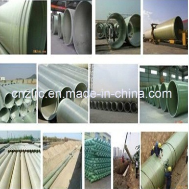 FRP GRP Fiberglass Composite Pressure Epoxy Resin Water and Oil Pipes Zlrc