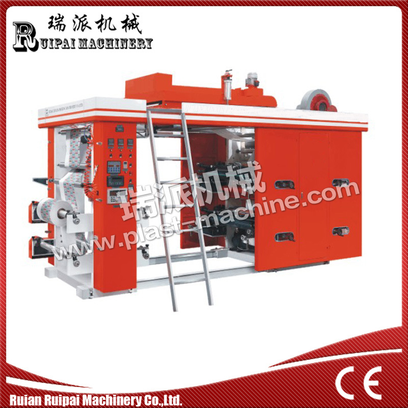 High Speed 4 Color Flexographic Printing Machine pictures & photos