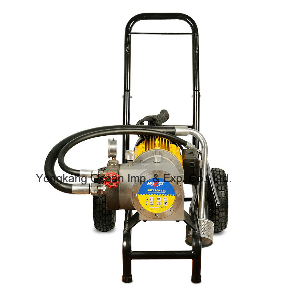 Hyvst Electric High Pressure Airless Paint Sprayer Diaphragm Pump Spx2200-250