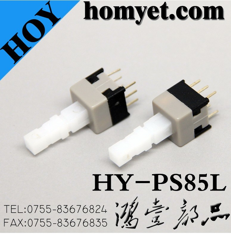 China High Quality 6 Pins Long Stem Tact Switch DIP Type Key Switch ...
