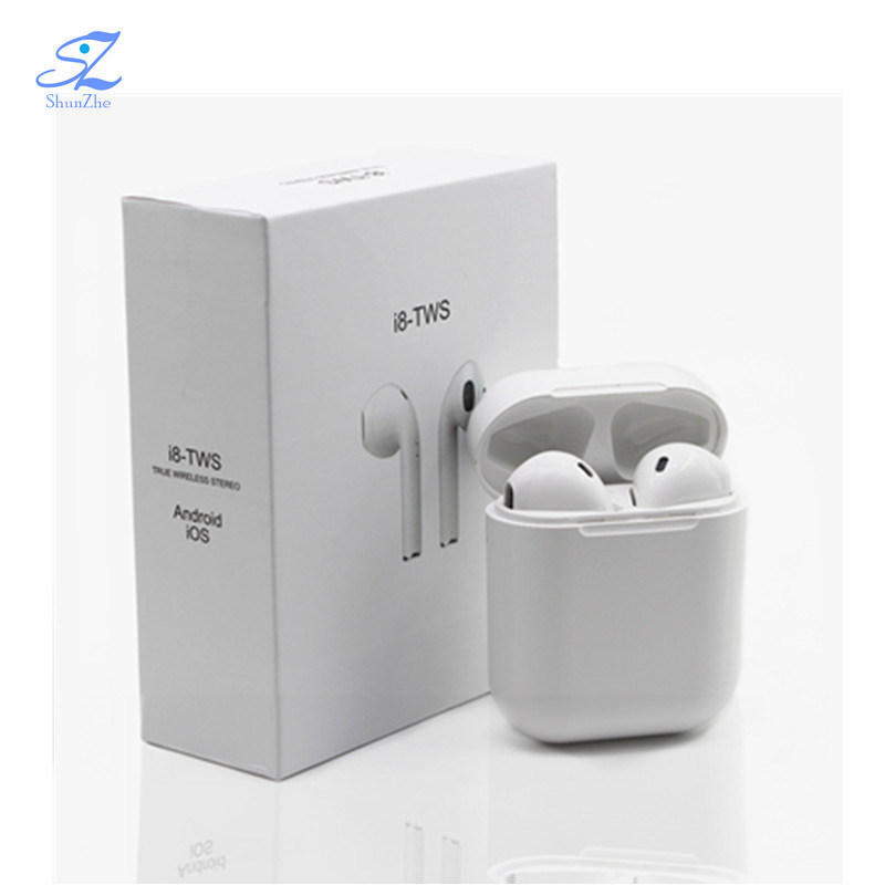 China I8 Wireless Earphone Bluetooth Headset Cordless Stereo Sport In Ear Single Earbud With Mic I7 I7s For Iphone X 8 7 Plus Samsung Phone China Earphone And Headset Price