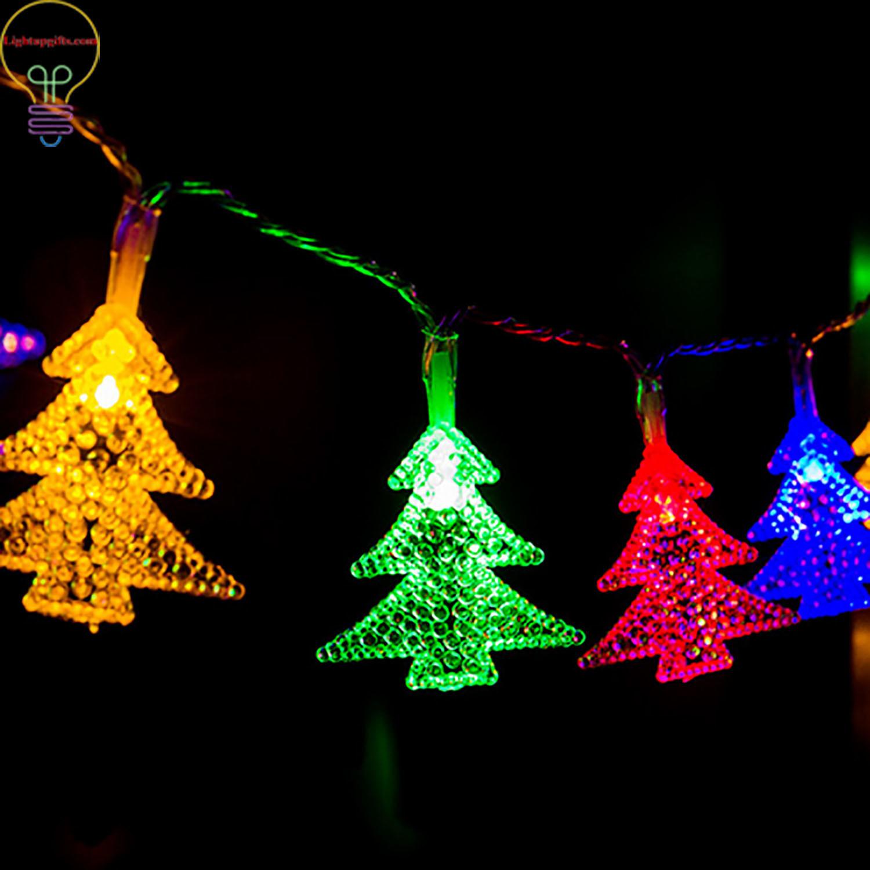Led Christmas Lights Color.Hot Item Led Christmas Lights String Battery Box Led Color String Christmas Tree Lamp