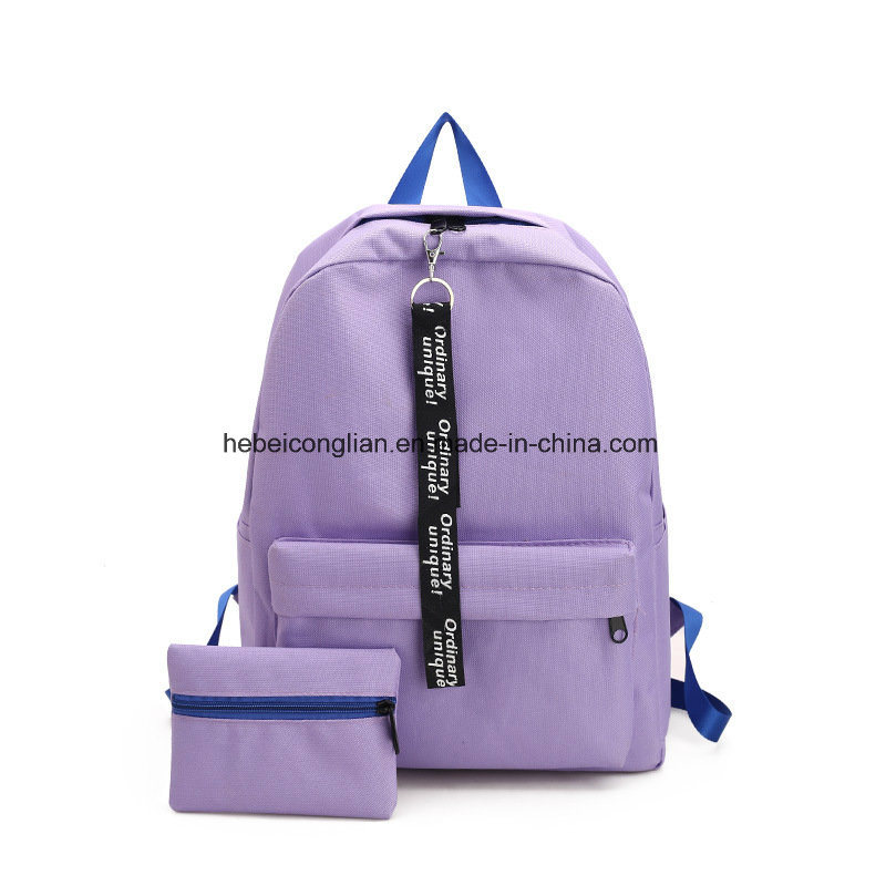 China Double Shouldered Bag Female Business Nylon Oxford Schoolbag