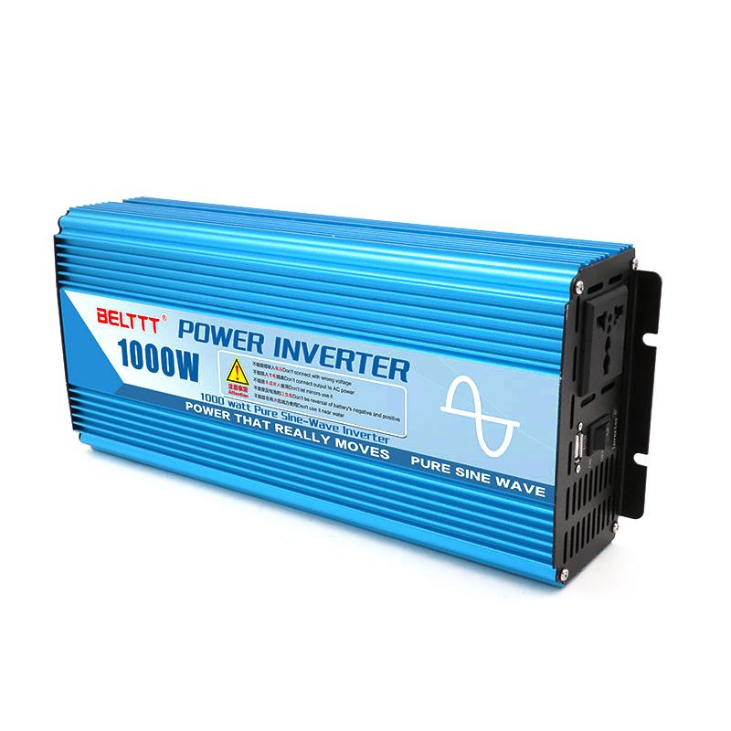 Super China 1000W DC 12V to AC 230V Power Inverter Pure Sine Wave Power NW86