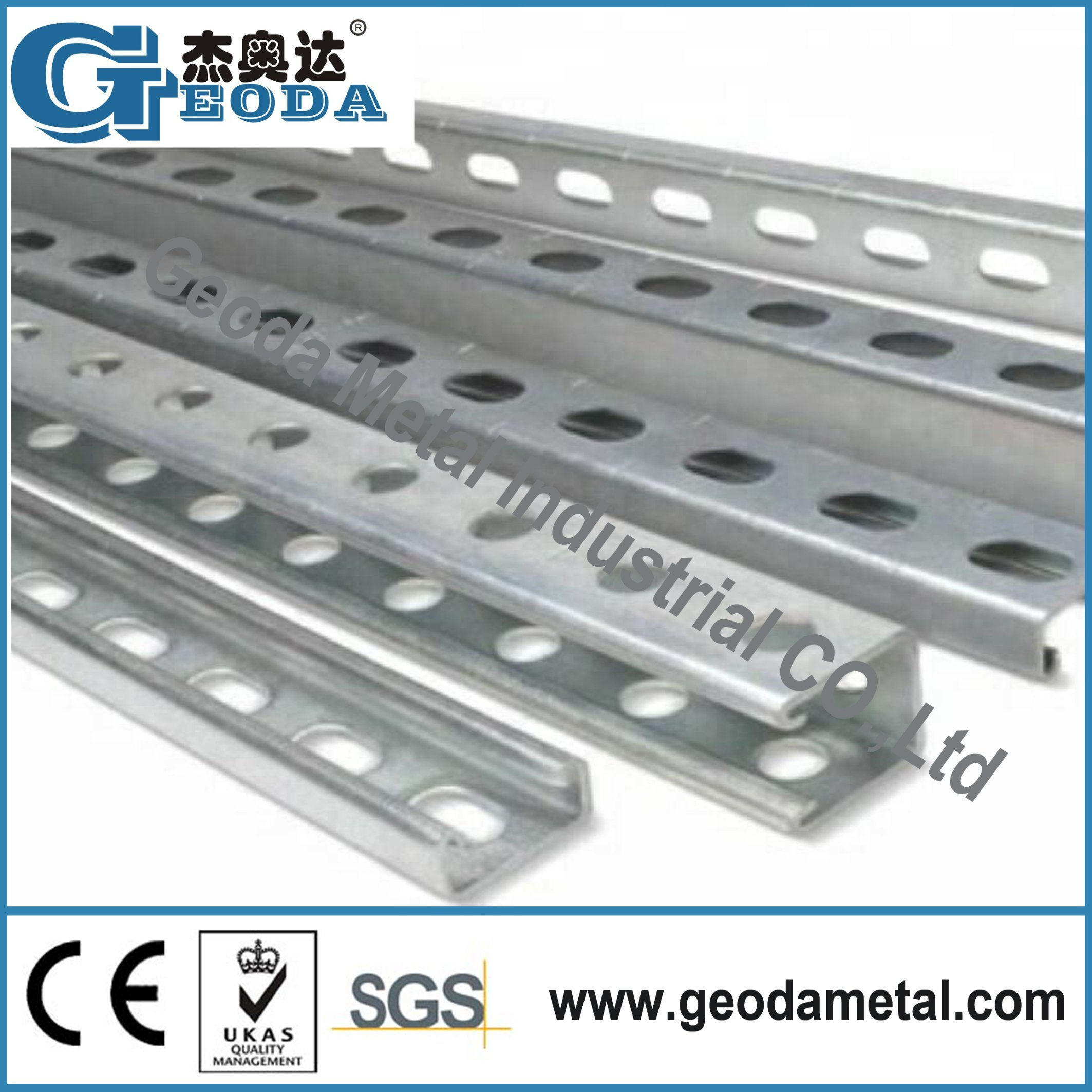 Made in China Slotted Unistrut Channel Steel C Channel Solar