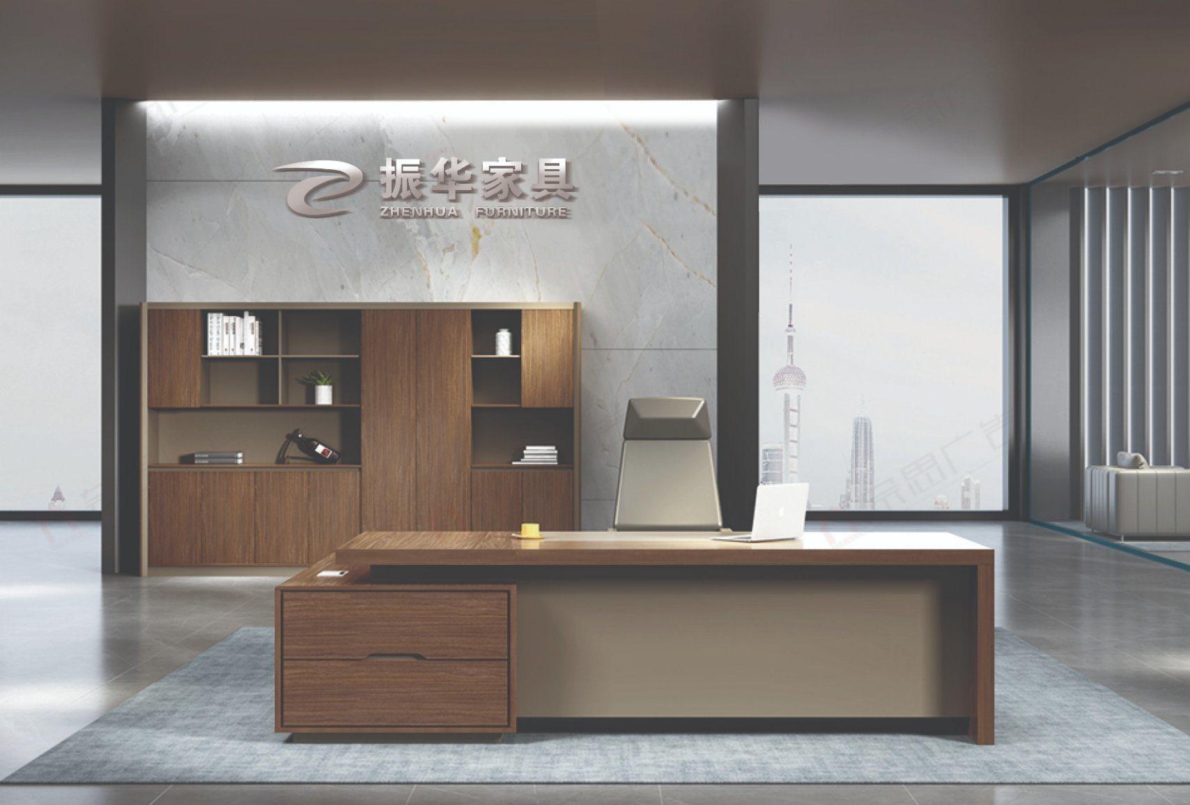 China Escritorio Moderno Luxury Big Boss Table Desk Design Home Executive Office Desk China Office Table Office Furniture