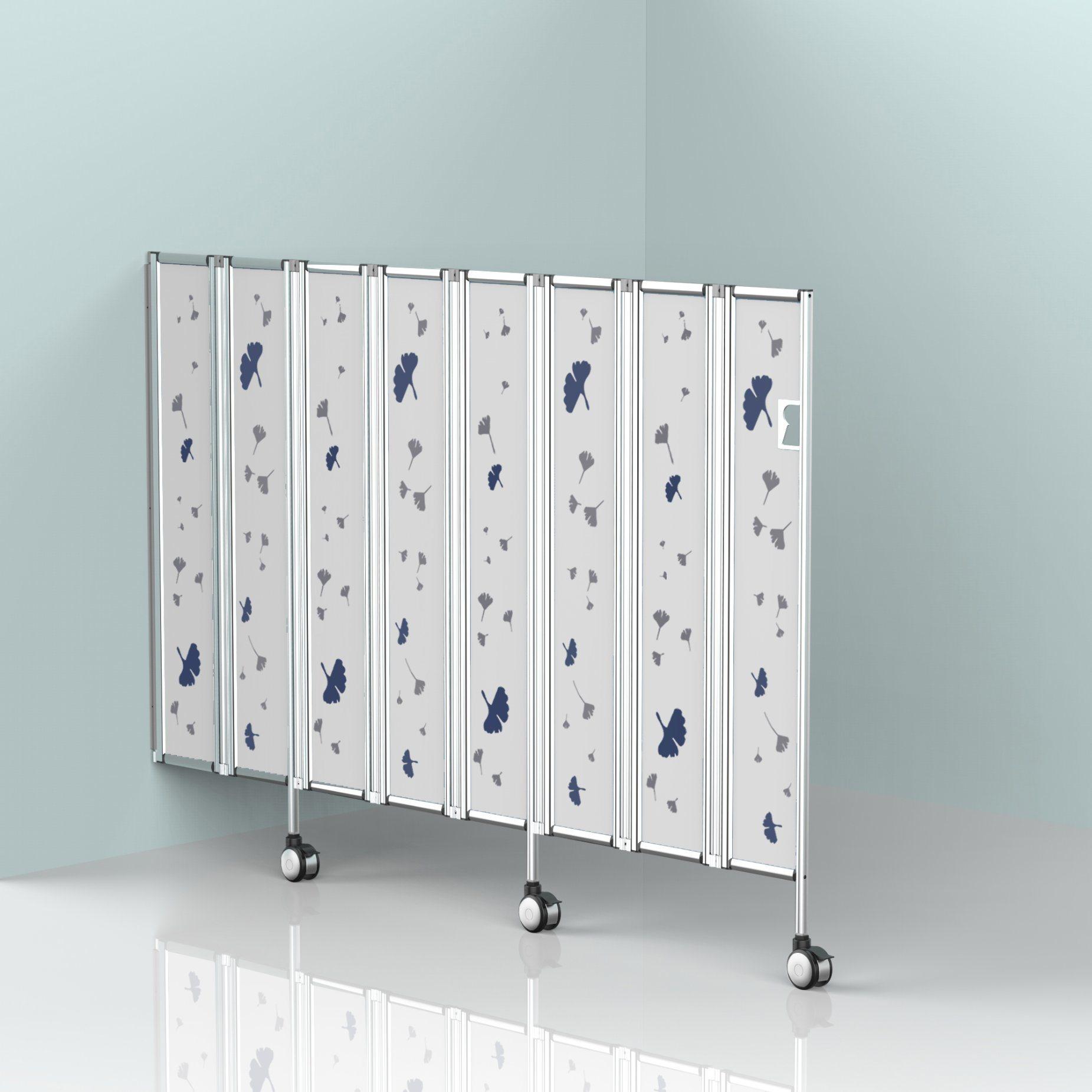 China Aluminium Profile Folding Screen Room Divider Chinese Screen Divider Sliding Privacy Screen