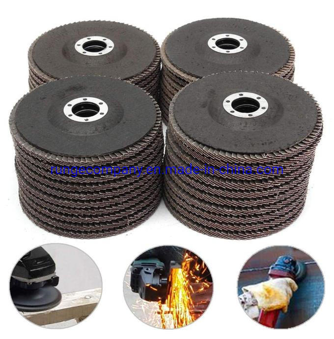 10 Pack FREE Priority SHIPPING 4.5 Inch FLAP  DISC