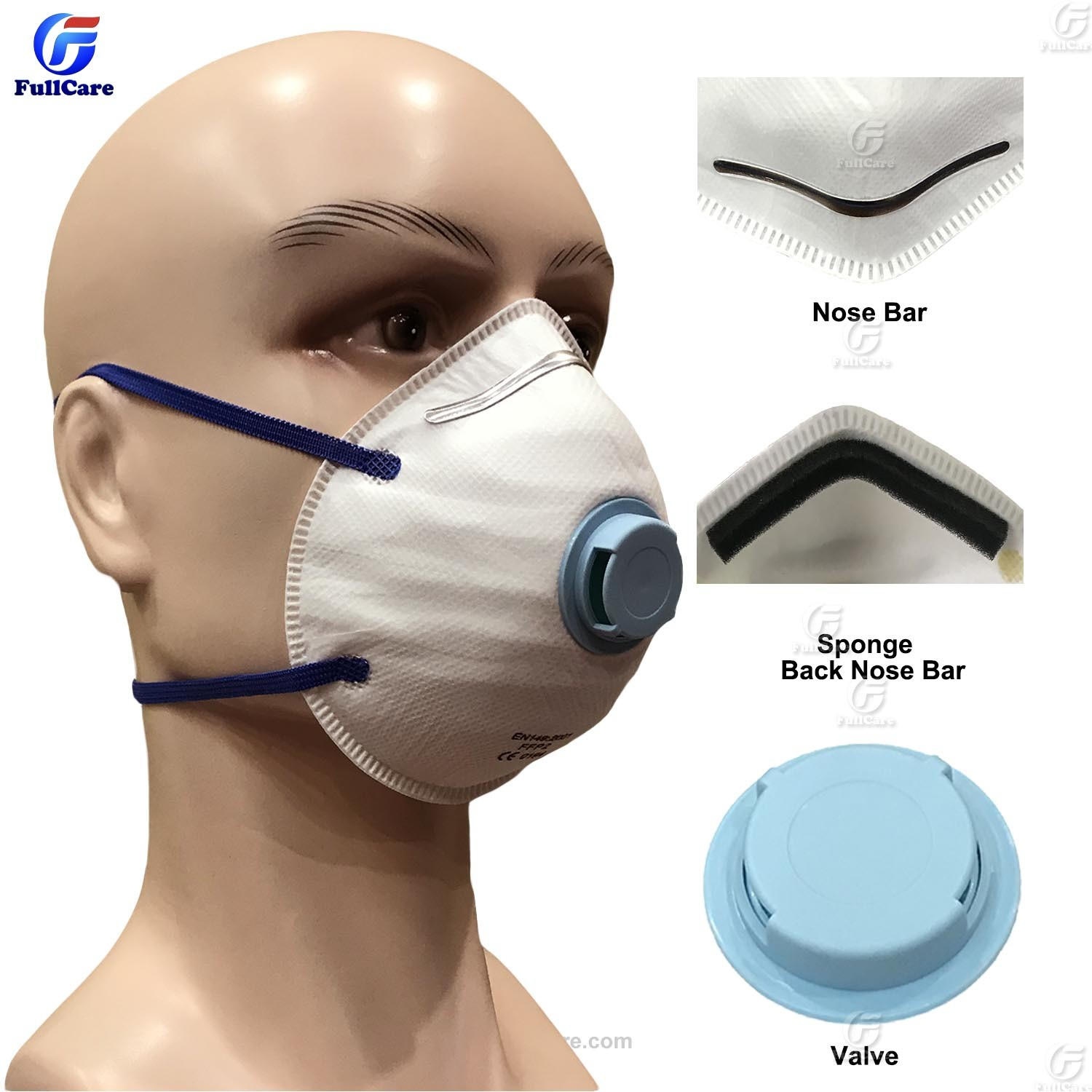 Mask Respirator Mas Gas Protective Chemical Safety Disposable Dust Item N95 Noish hot Proof Particulate