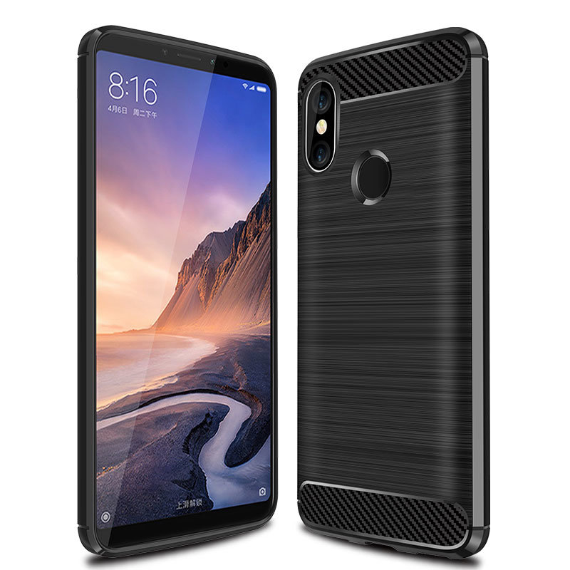 65fc05d00b7 China Silicone TPU Cell Phone Case for Xiami Mi Max 3 PRO - China Phone Case