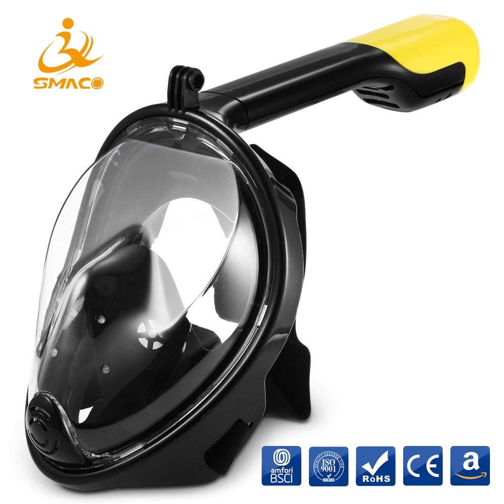 5d75bf9232e China Scuba Diving Full Face Snorkeling Mask Snorkel Diving Equipment  Swimming Goggle - China Scuba