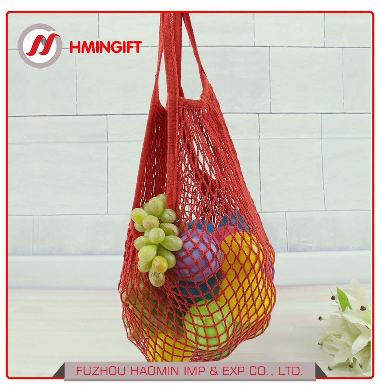 7a275b9f5274 China Portable Reusable Mesh Cotton Net String Bag Organizer ...