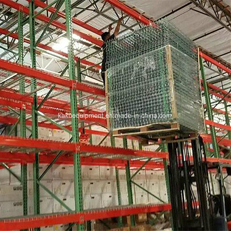 Warehouse Storage Heavy Duty Pallet Shelving with Wire Mesh Decking pictures & photos