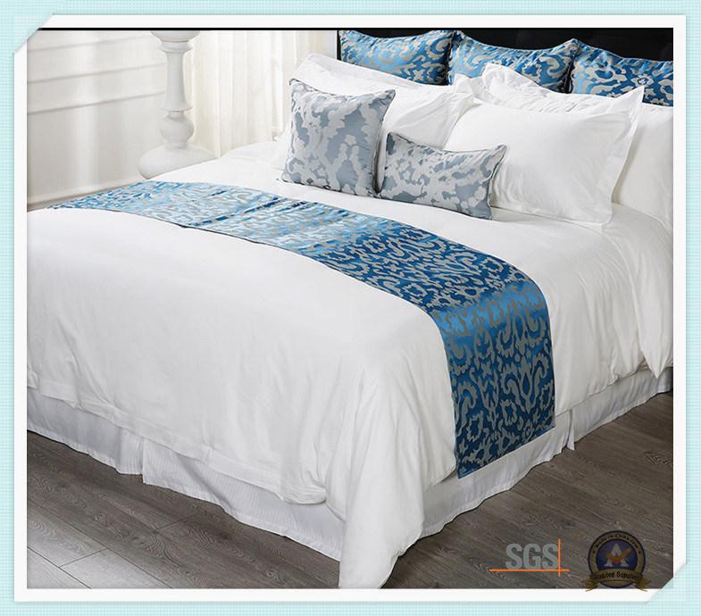 China Hotel Microfiber Bed Sheets White Cotton Linen Bedding Sets Set