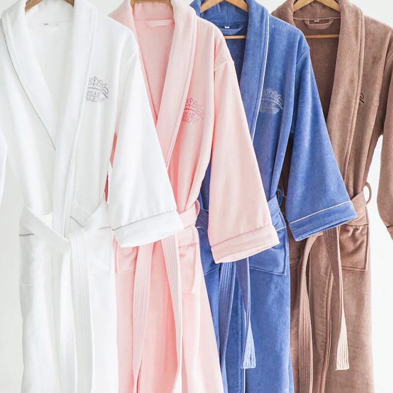 14d172e6c1 China Wholesale 100% Cotton Terry Bathrobe Fleece Bathrobe Waffle Bathrobe  - China Terry Bathrobe
