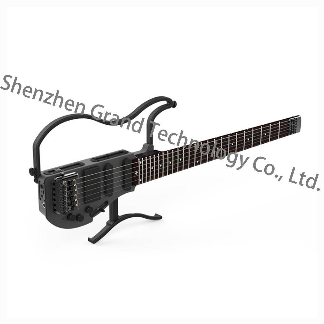 china portable headless electric guitar with in headphone amp ad80 china electric guitar guitar. Black Bedroom Furniture Sets. Home Design Ideas