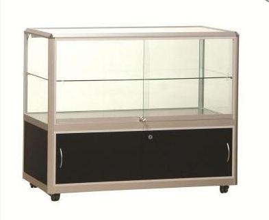 Portable Exhibition Cabinet : China aluminum portable exhibition stand display modular showcase