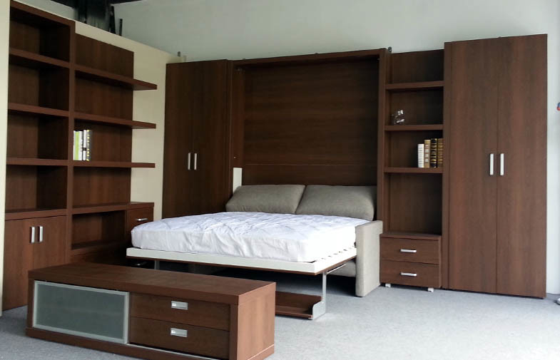 China Double Wall Bed, Amercian Style Murphy Folding Wall ...