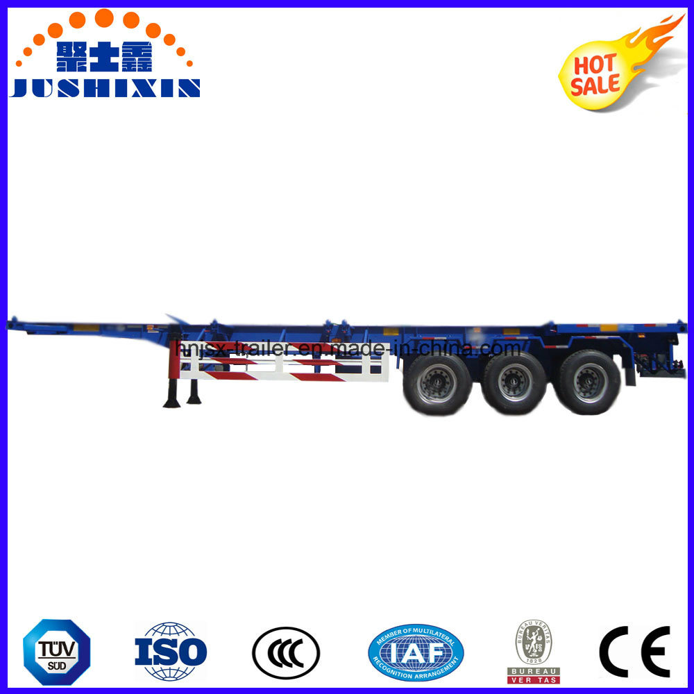 Utility Low Bed Container Semi Trailer pictures & photos