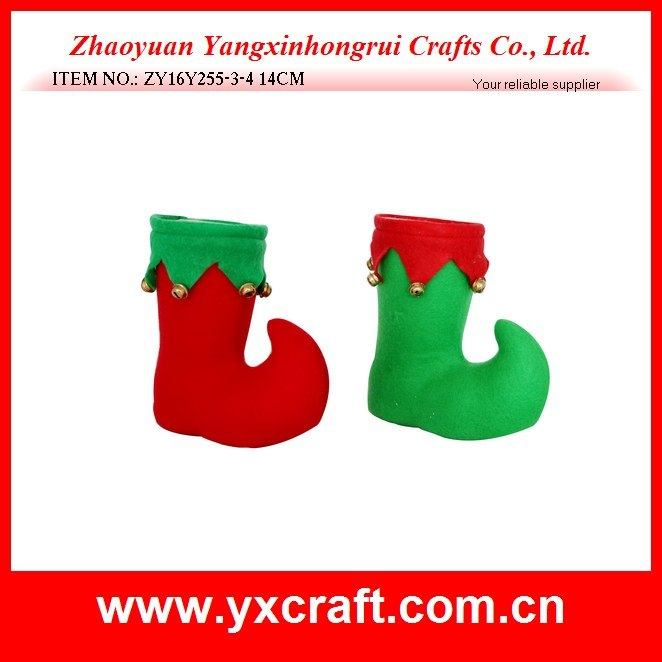 Christmas Decoration (ZY16Y255-3-4 14CM) Christmas and Holiday Wholesale Christmas Craft Supplies