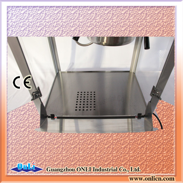 Hot Sale Electric Commercial Kettle Caramel 8 Oz Popporn Maker Popcorn Making Machine with Cart Wholesale Price pictures & photos