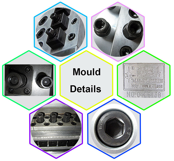 300mm/600mm 3PE Coating Opertions and Coating Technology Mould