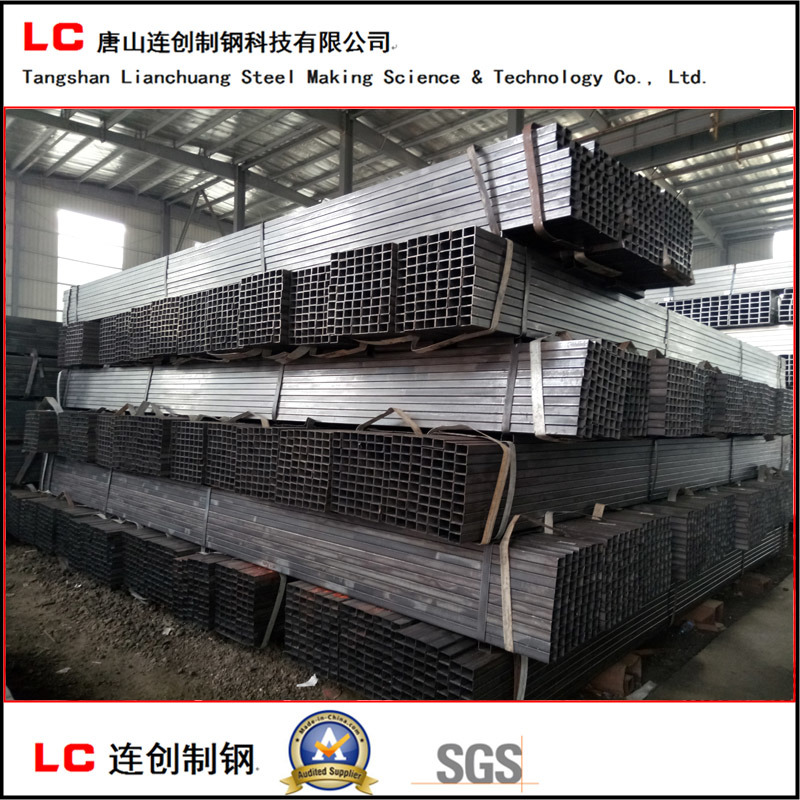 Oiled Black Rectangular Hollow Section Pipe pictures & photos