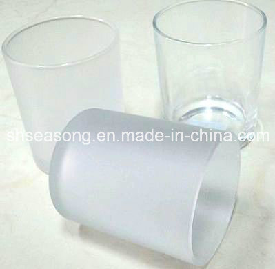Glass Candle Holder / Candle Jar / Glass Cup (SS1337)
