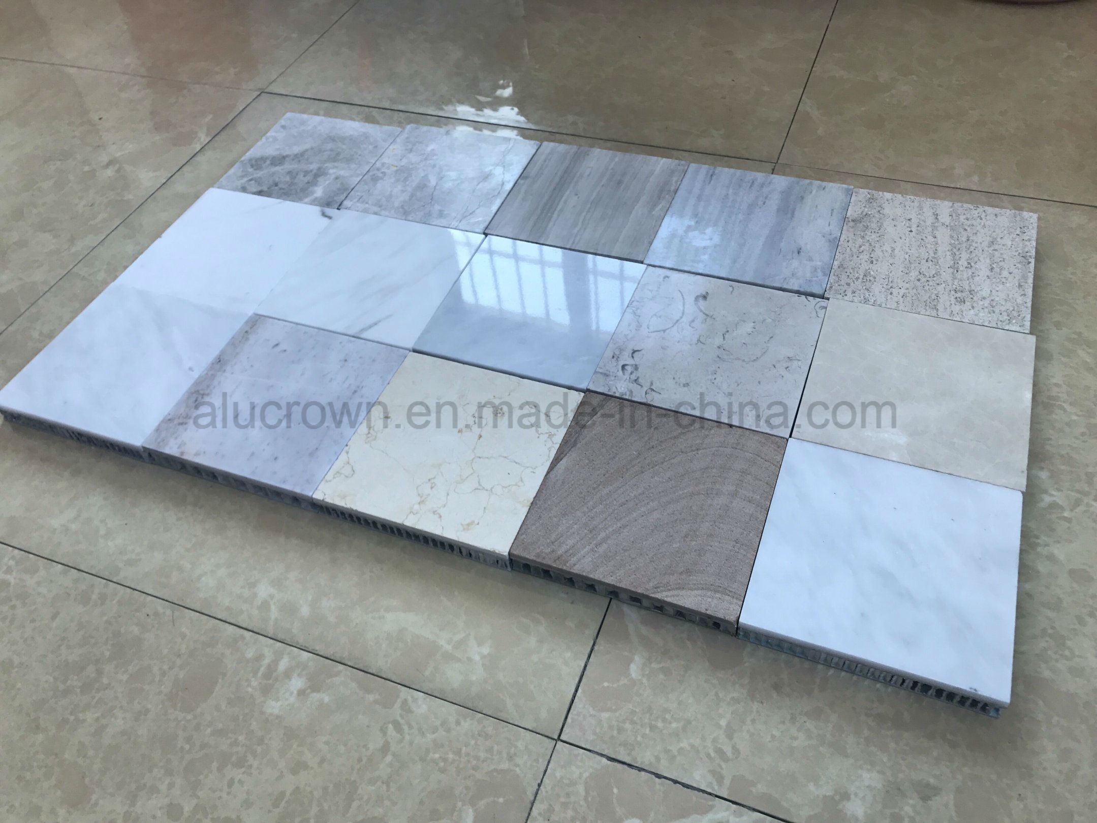 China Marble/Granite/Travertine Stone Faced Honeycomb Panels Wall ...