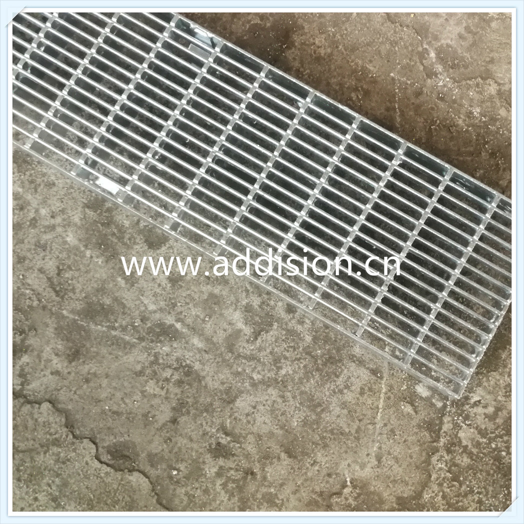China Stainless Steel Galvanized Bar Grating Driveway Trench