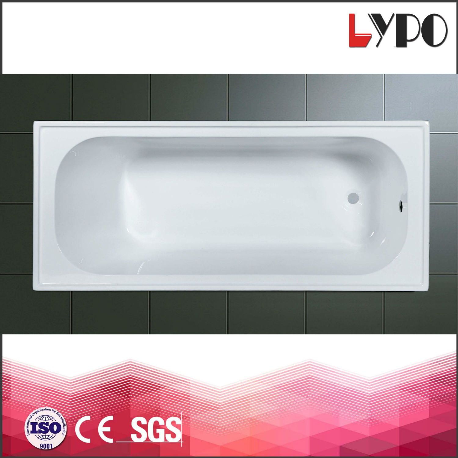 China K-1110A Adult 1.6m Length Bathtub, Acrylic Bathtubs, Project ...