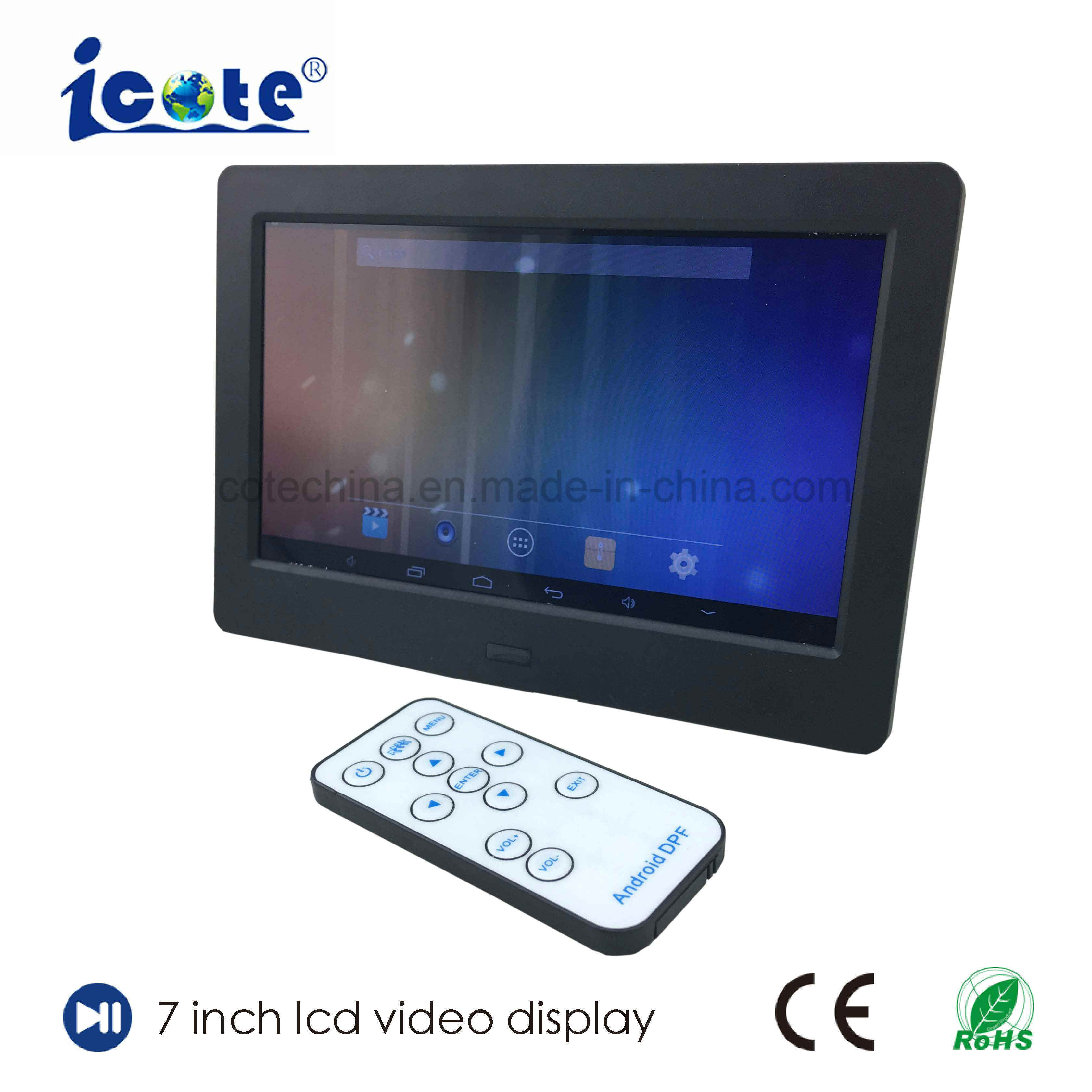China New Trend 2018 LCD Screen Digital Photo Frame 7inch/Video ...