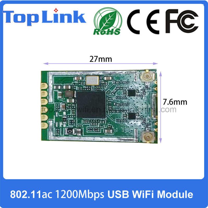 [Hot Item] Realtek Rtl8812bu 2T2R 802 11AC 2 4G/5g Dual Band 1200Mbps High  Speed USB 2 0 Embedded WiFi Module