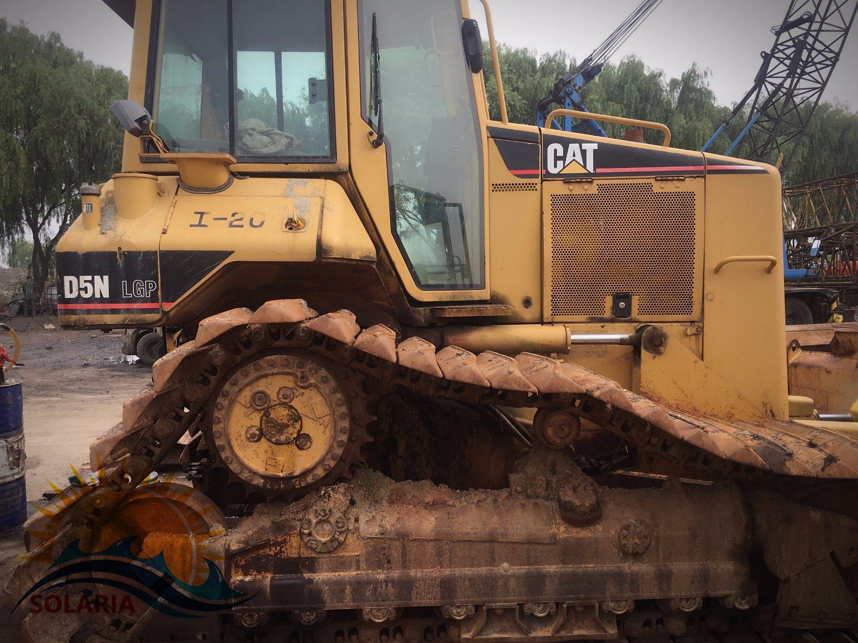 China Used Original Japan Caterpillar Tractor D5n LGP