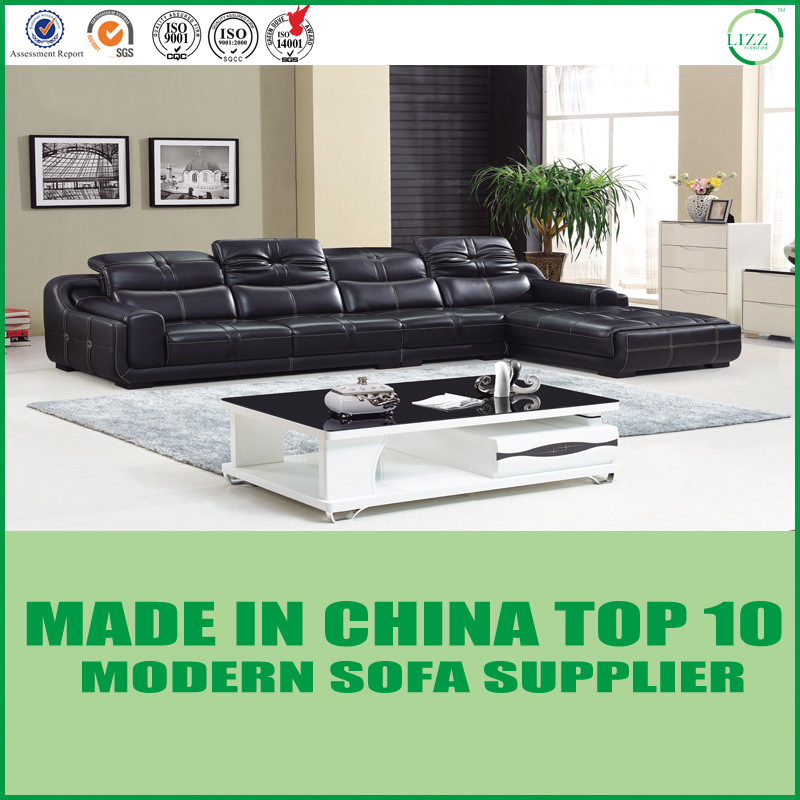 [Hot Item] Eleglant Office Home Leather L Shape Sofa Bed