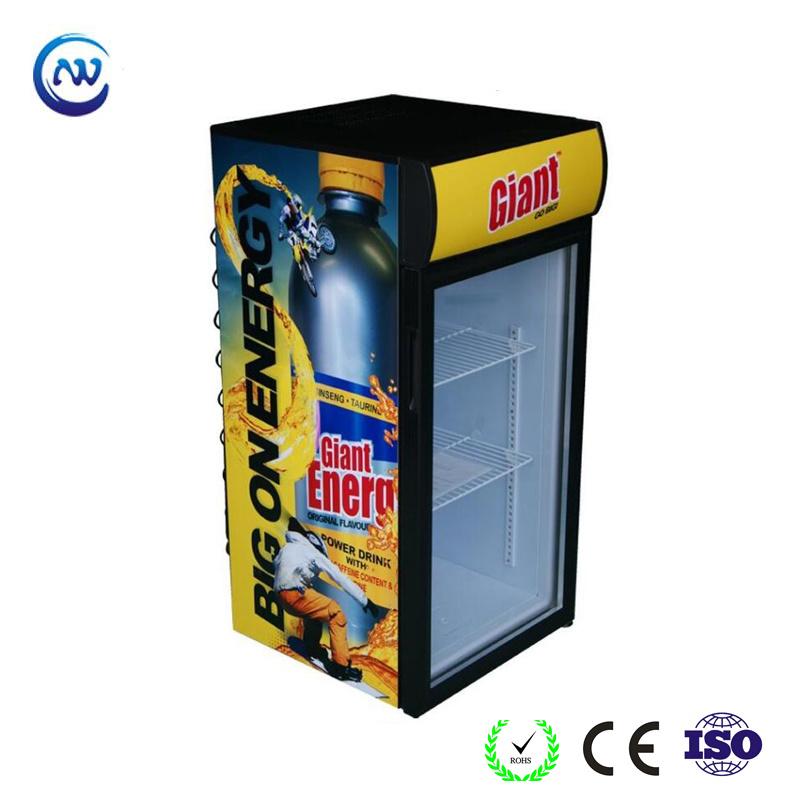 China Desktop Cooler With Attractive Branding For Promotion Jga Sc120 Refrigerator Showcase