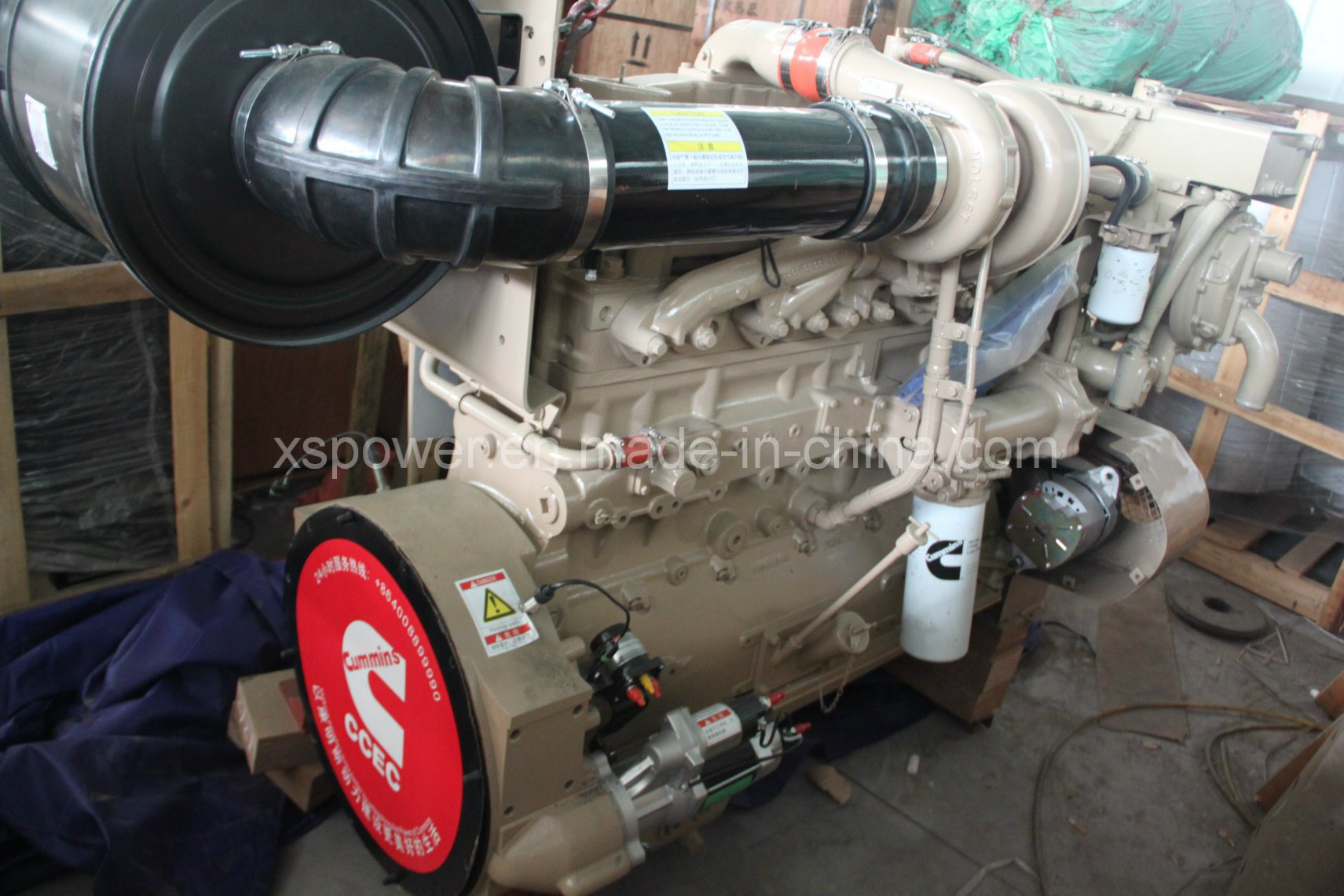 China Nt855 P270 Cummins Diesel Engine for Drill Rig Rotary drill