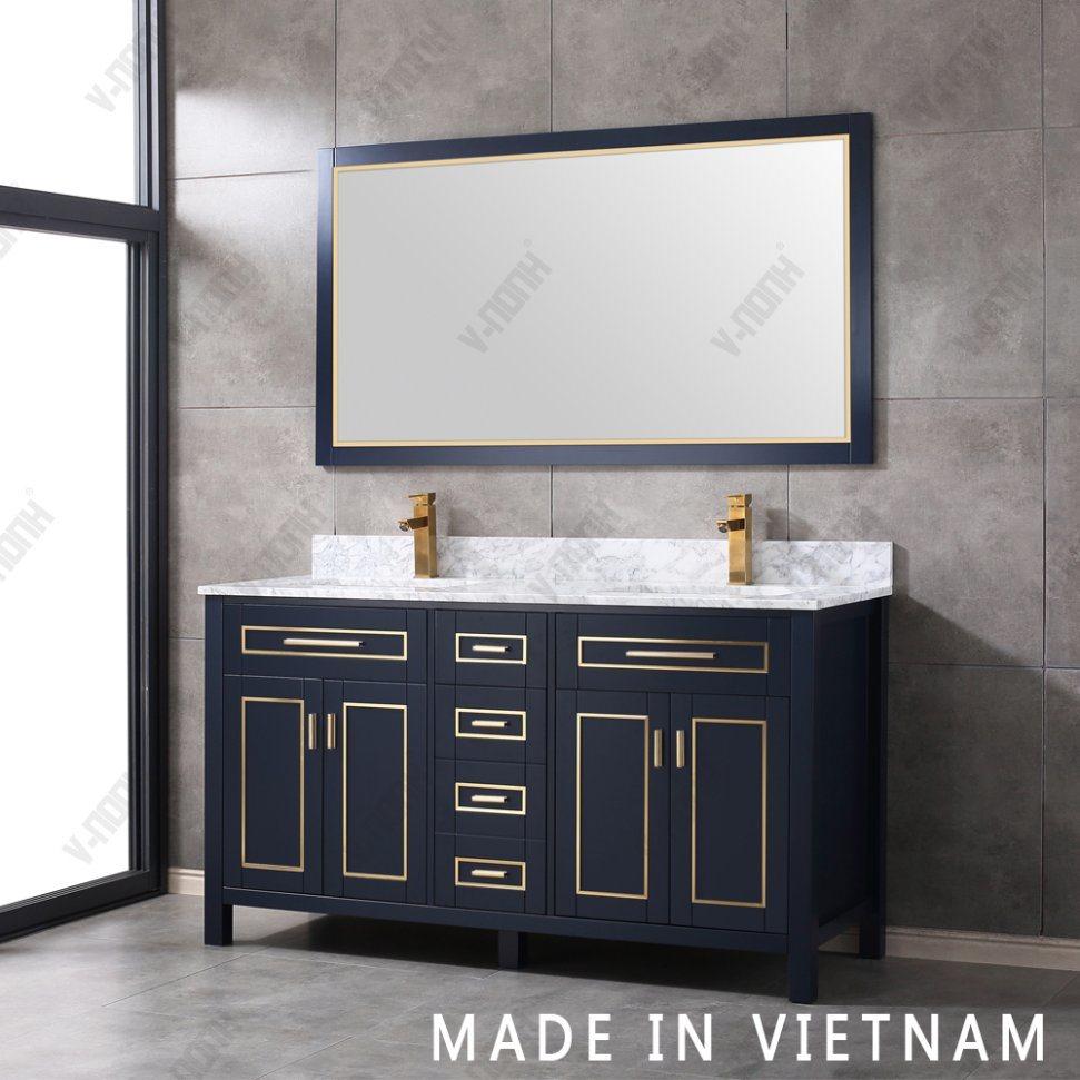 China Made In Vietnam Bathroom Vanity, Bathroom Vanity Freestanding Sink