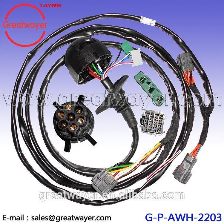 china iszuz 7 pin adapter 14 pin trailer wire harness